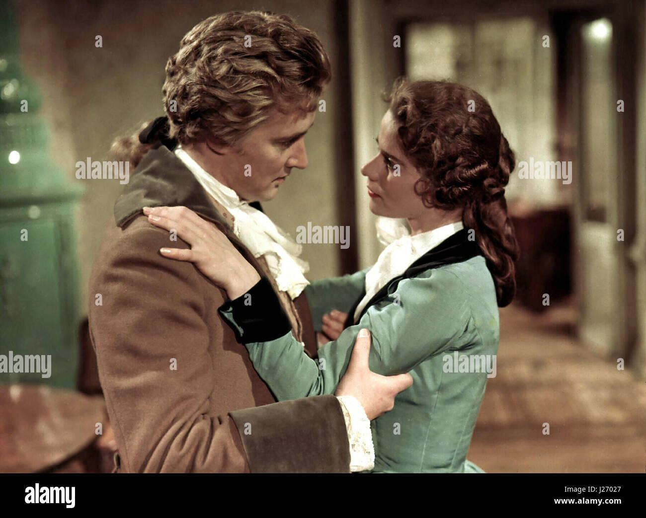 Reich mir die Hand, mein Leben aka. Mozart, Österreich 1955 Regie: Karl Hartl Darsteller: Oskar Werner, Johanna - Stock Image