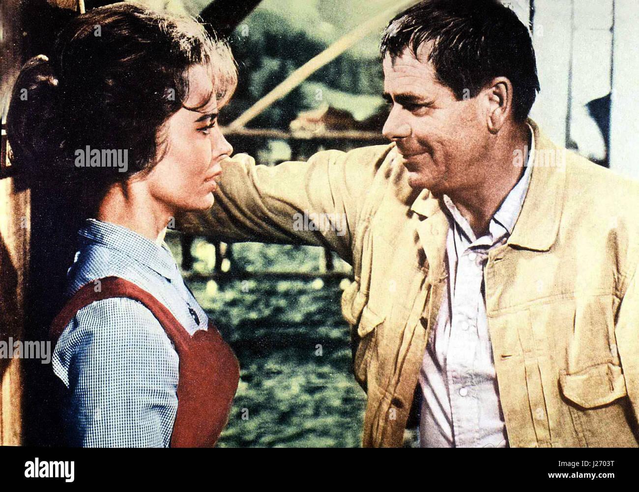Nebraska aka. The Rounders, USA 1965  Regie: Burt Kennedy Darsteller: Glenn Ford, Henry Fonda, Sue Ane Langdon - Stock Image