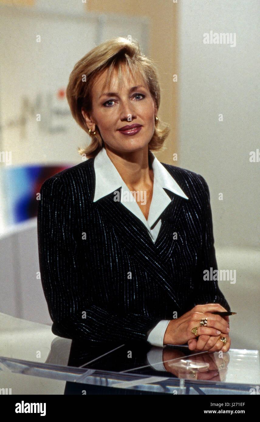 ML Mona Lisa, Fraueninformationssendung, Deutschland 1997, Moderation: Petra Gerster - Stock Image