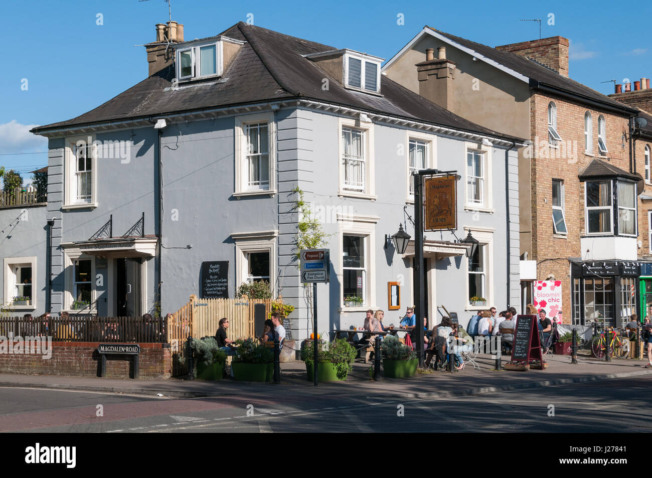 The Magdalen Arms pub, Iffley Road, Oxford, United Kingdom Stock Photo