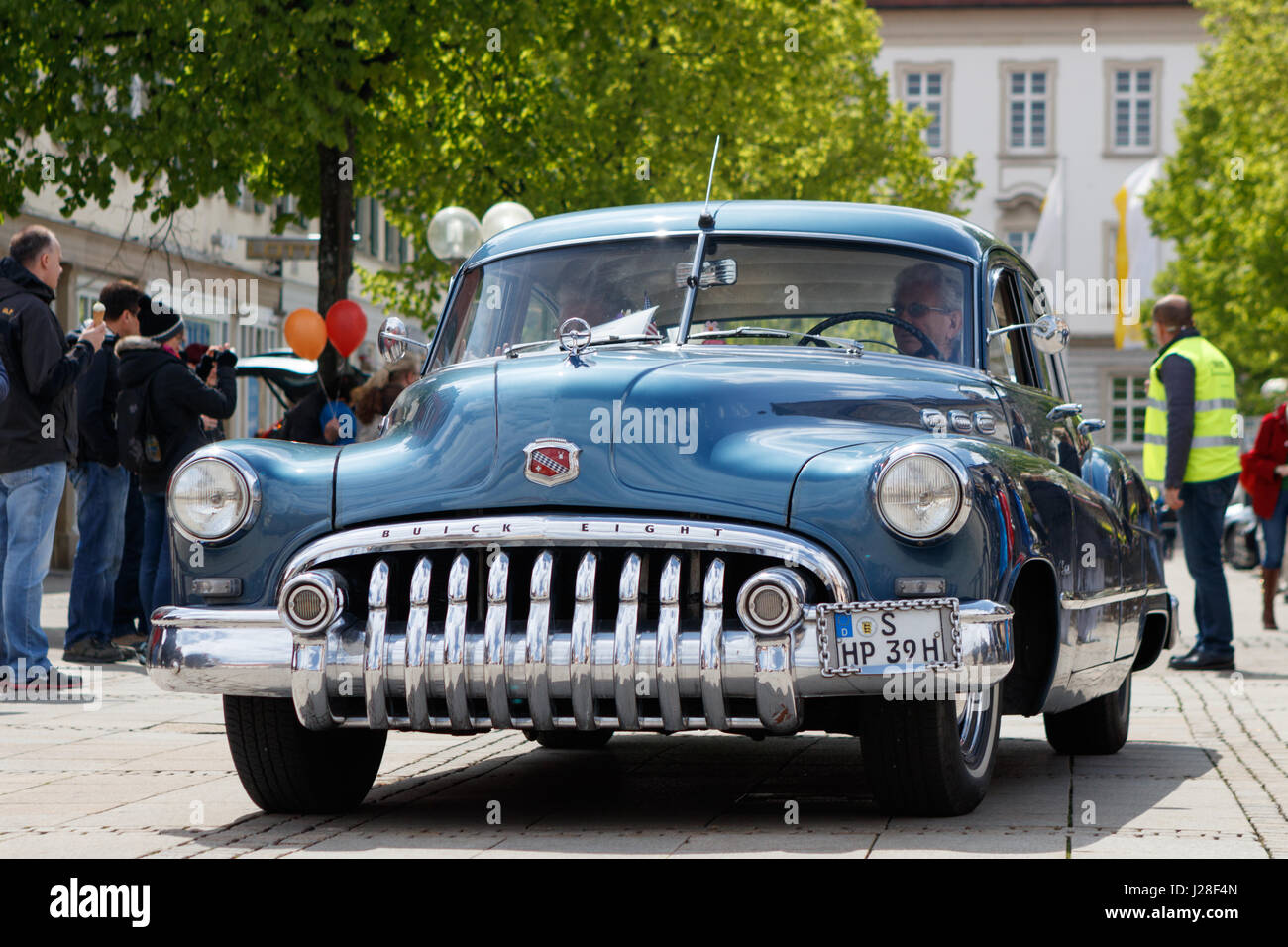 LUDWIGSBURG, GERMANY - APRIL 23, 2017: Buick Special oldtimer car at the eMotionen event on April 23, 2017 in Ludwigsburg, - Stock Image