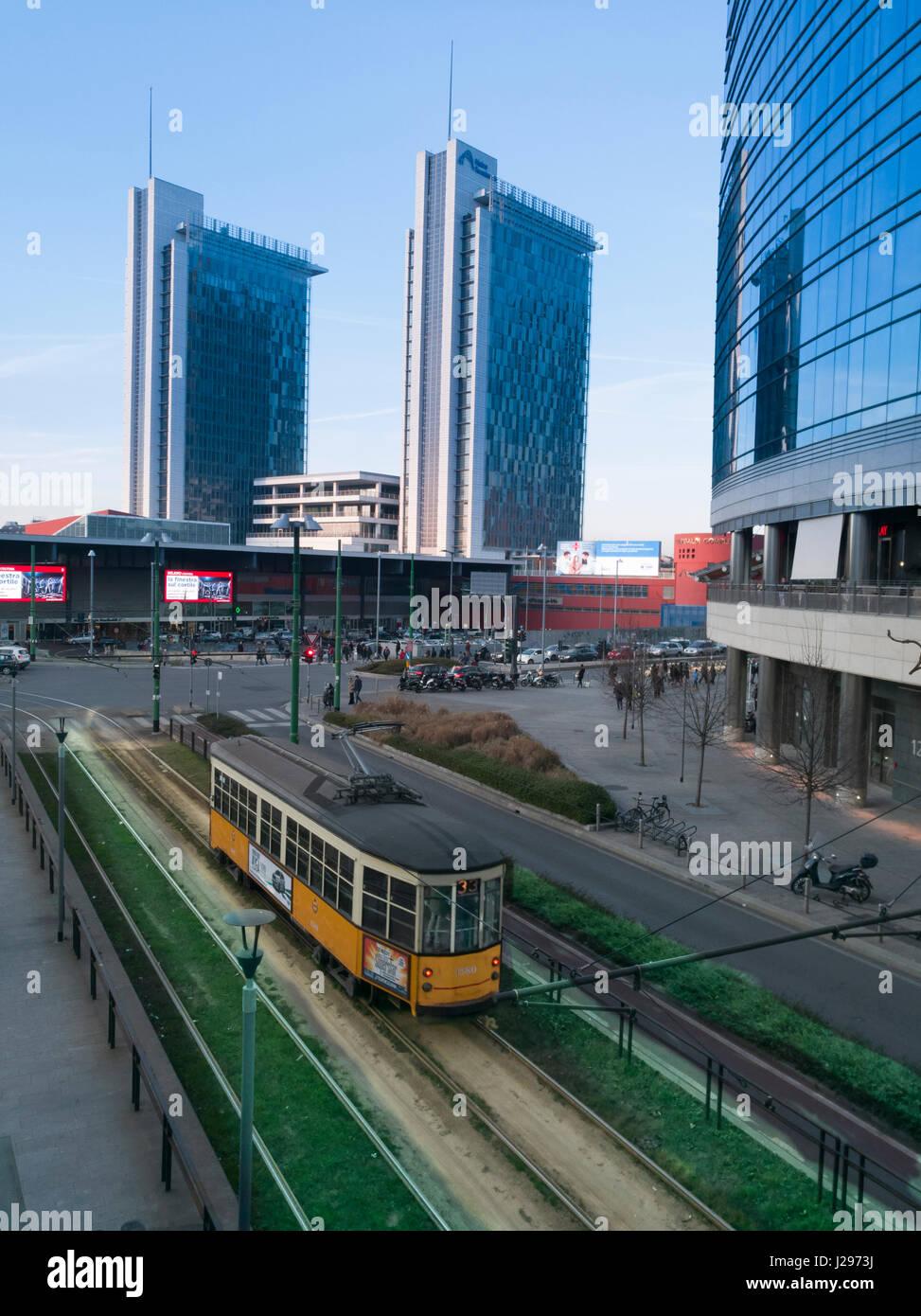 Milano porta garibaldi stock photos milano porta - Milano porta garibaldi station ...
