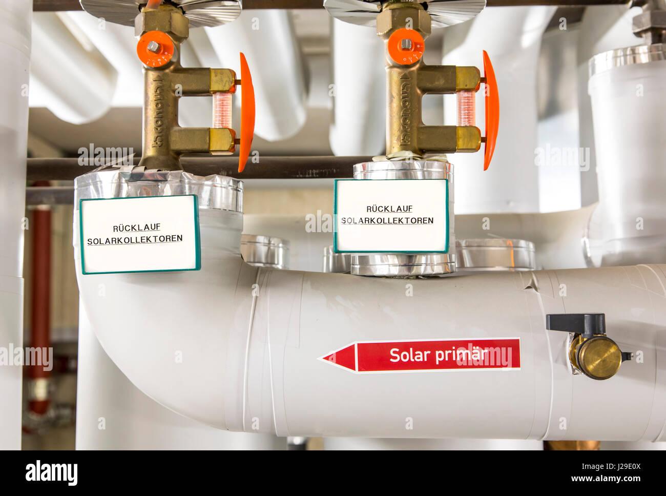 Hot Water Boiler Stock Photos & Hot Water Boiler Stock Images - Alamy