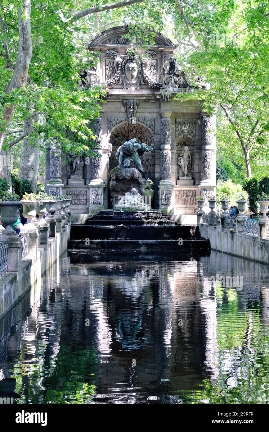 France Paris 6th District Jardin Du Luxembourg Green Oasis At The