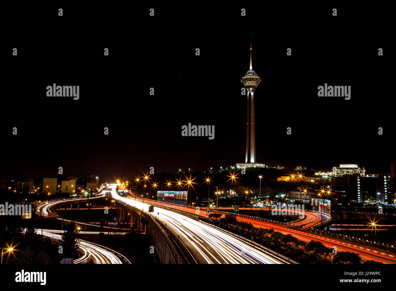 Tehran Streets Stock Photos Tehran Streets Stock Images Alamy