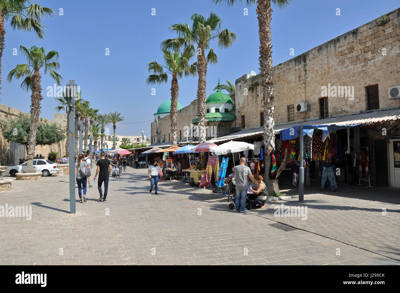 The city of Acre, Israel. - Stock Image