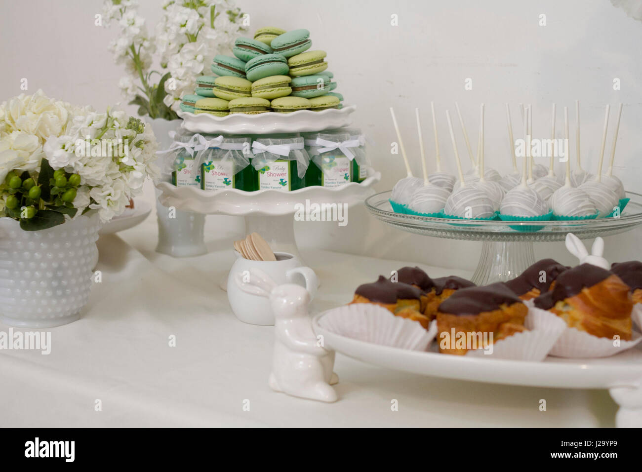 tea party - Stock Image