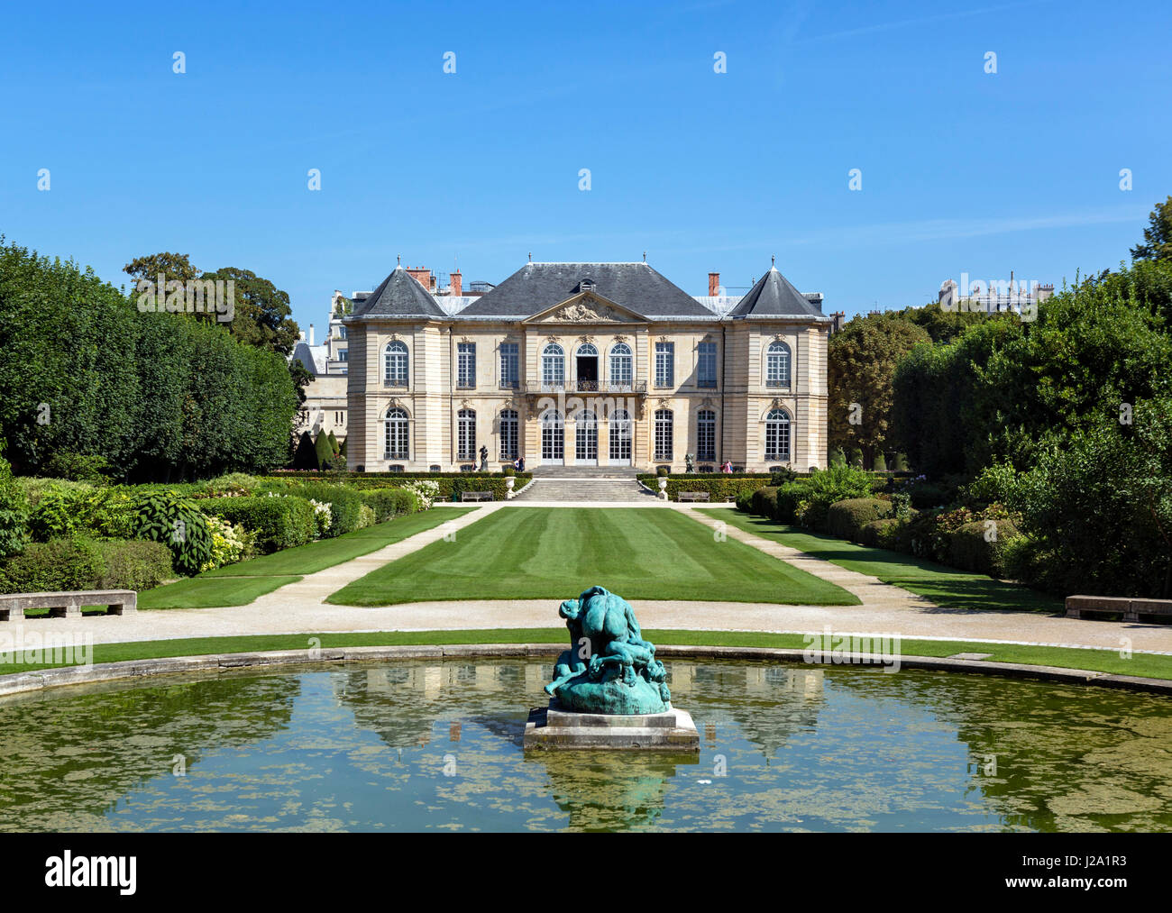 The Musee Rodin, Paris, France - Stock Image