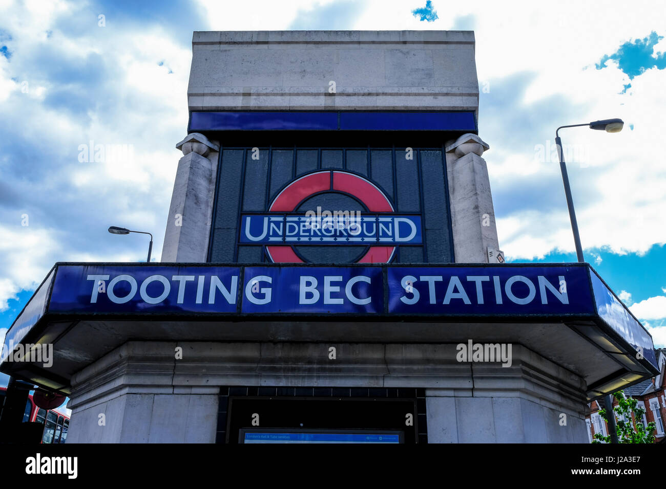 Tooting Bec station - Stock Image