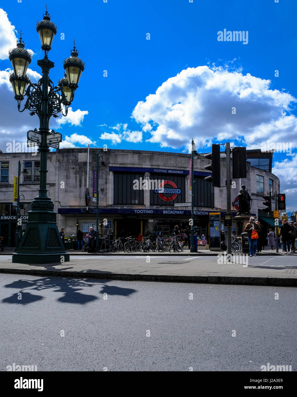 Tooting Broadway station - Stock Image