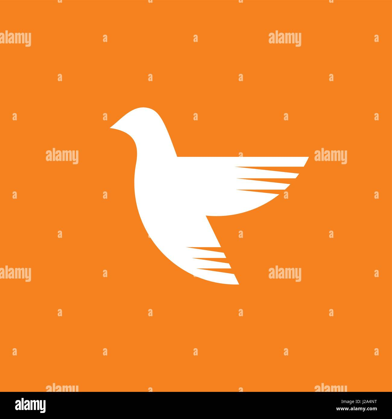 Dove A Symbol Of The Holy Spirit Of God Stock Vector Art