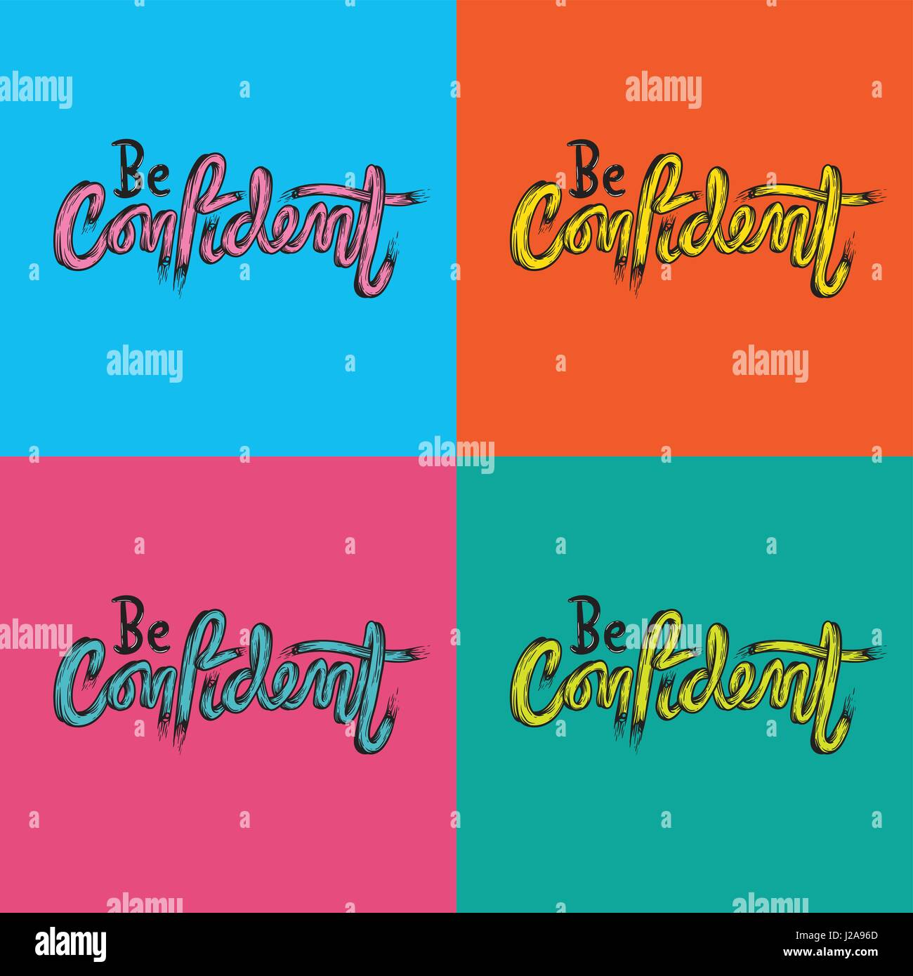 Confident Stock Vector Images - Alamy