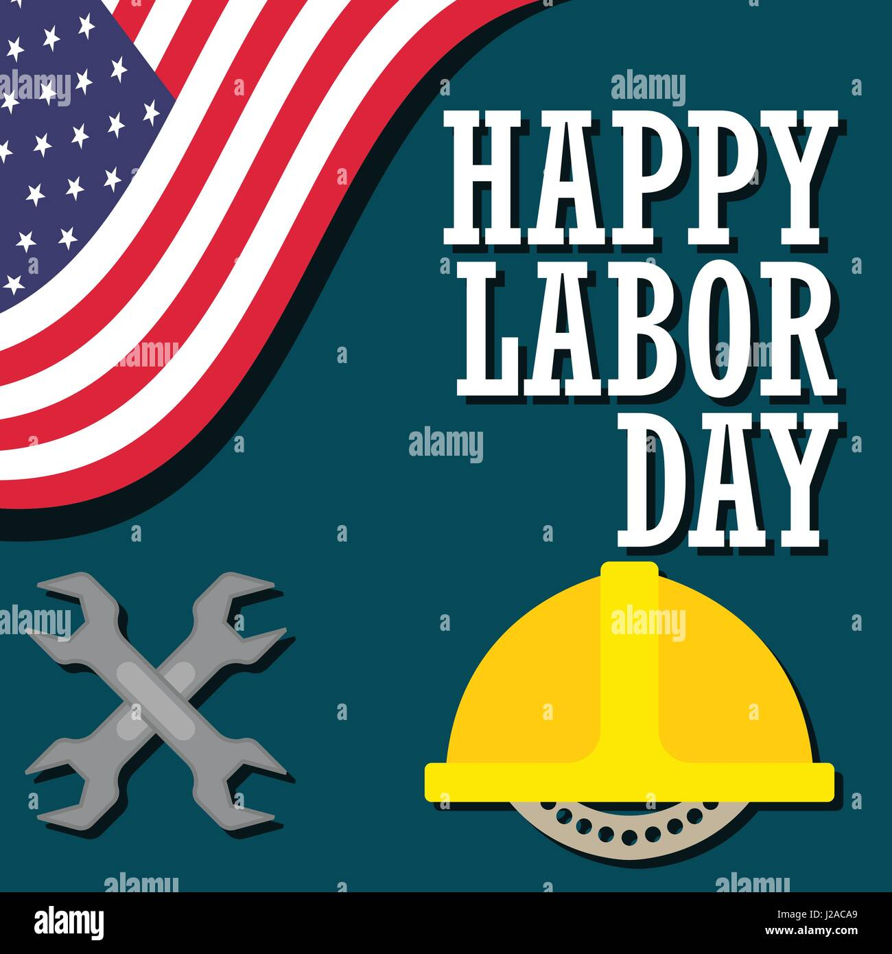 Poster Of Happy Labor Day Labour Day Sale Day May Day 1 May