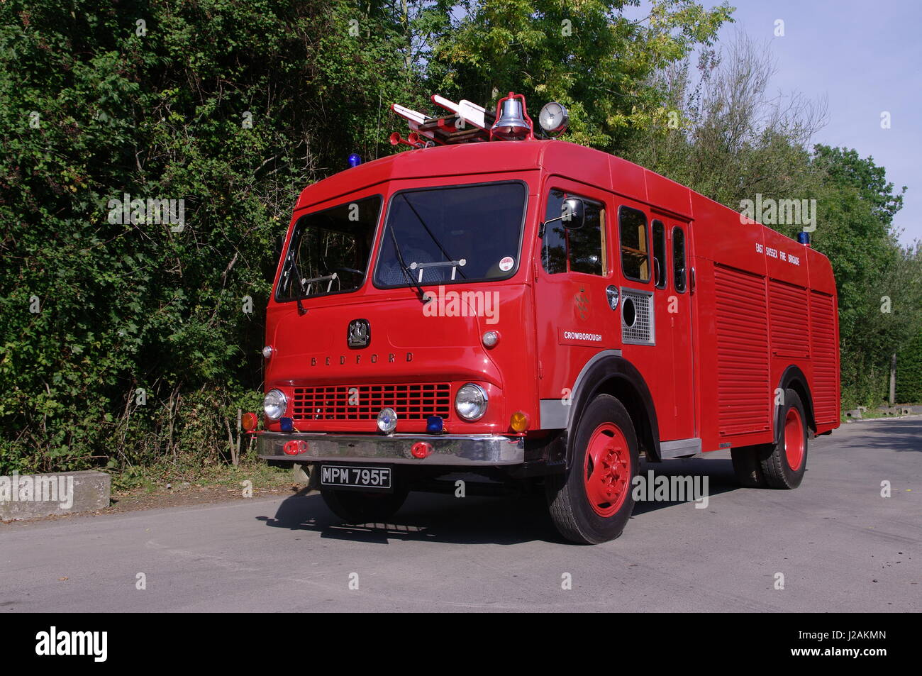 Bedford TK Water Tender - Stock Image