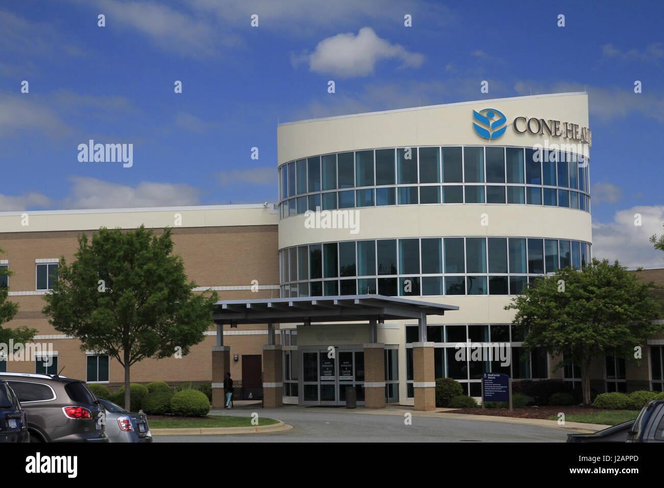 Cone Health Medical Mebane North Carolina - Stock Image