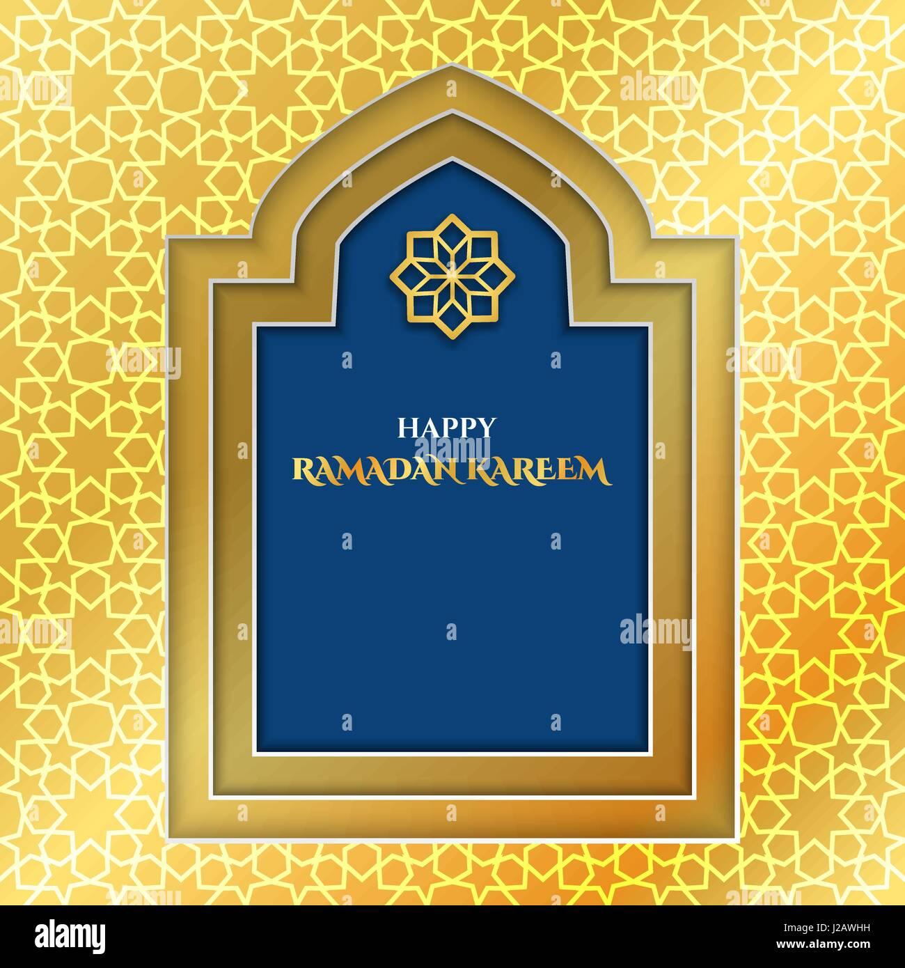 Vector Illustration Of Ramadan Kareem For Design Website Stock