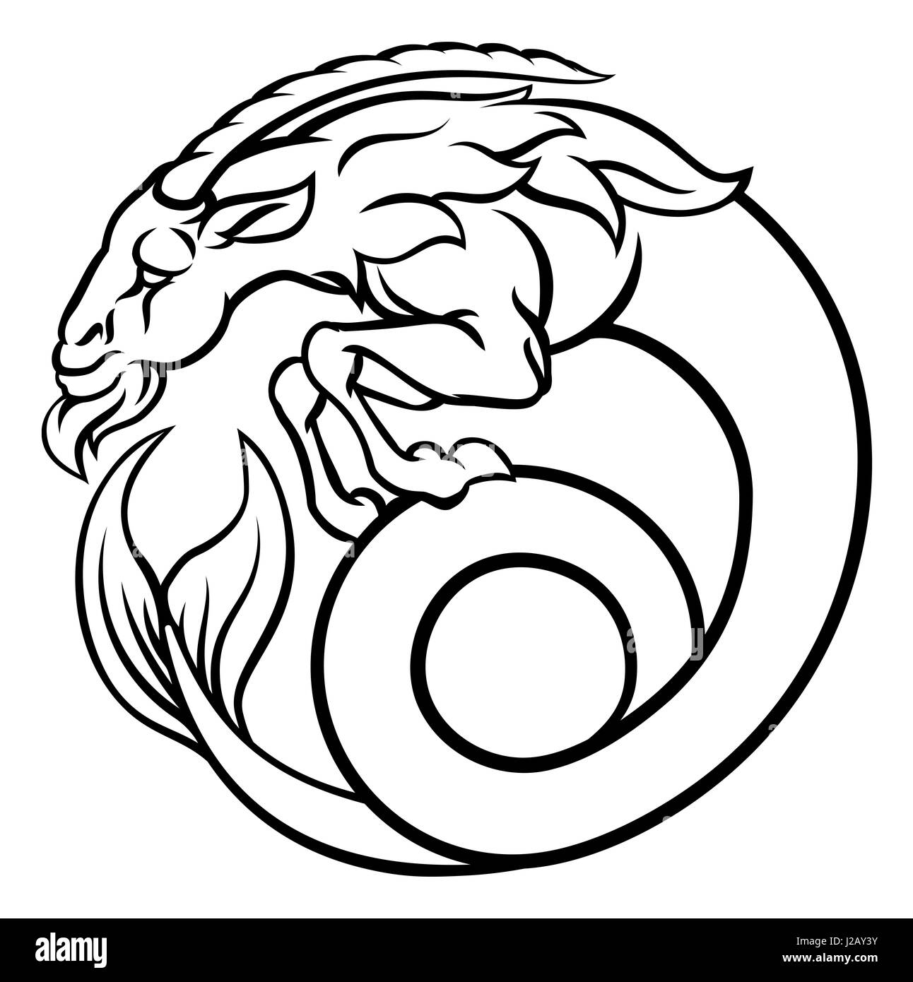 Capricorn Logo Stock Photos Capricorn Logo Stock Images Alamy