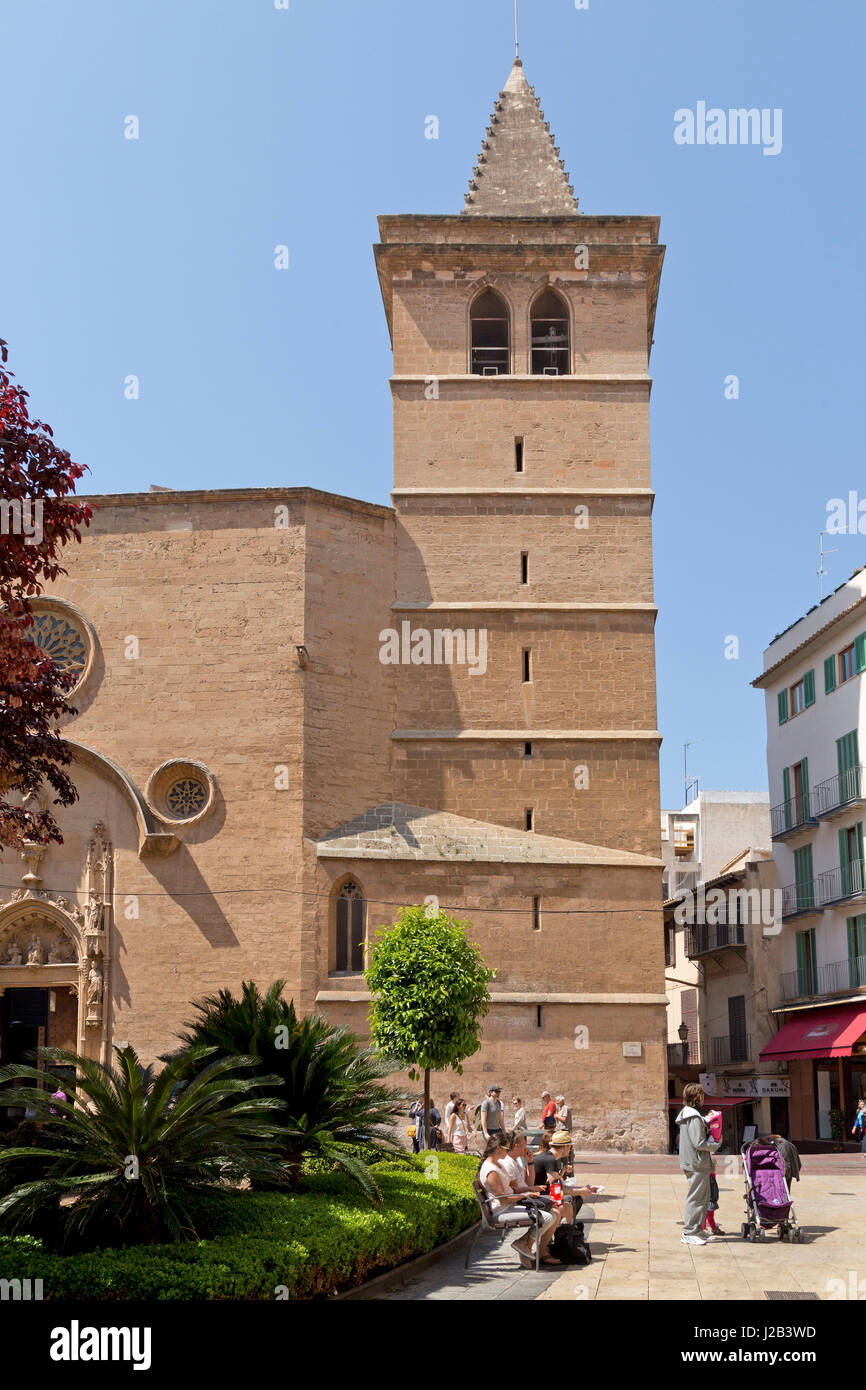 San Miquel in Palma de Mallorca, Spain Stock Photo