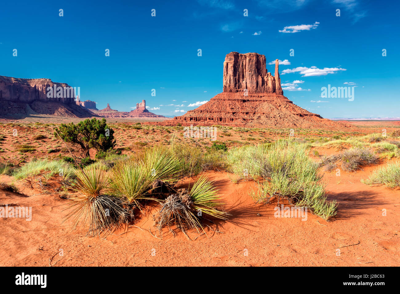 Beautiful Monument Valley, Arizona - Stock Image