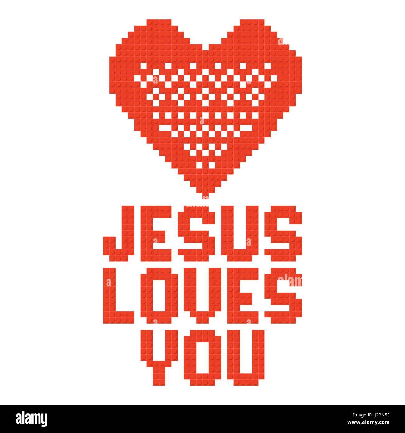 Christian Symbols In Form Lego Stock Photos Christian Symbols In