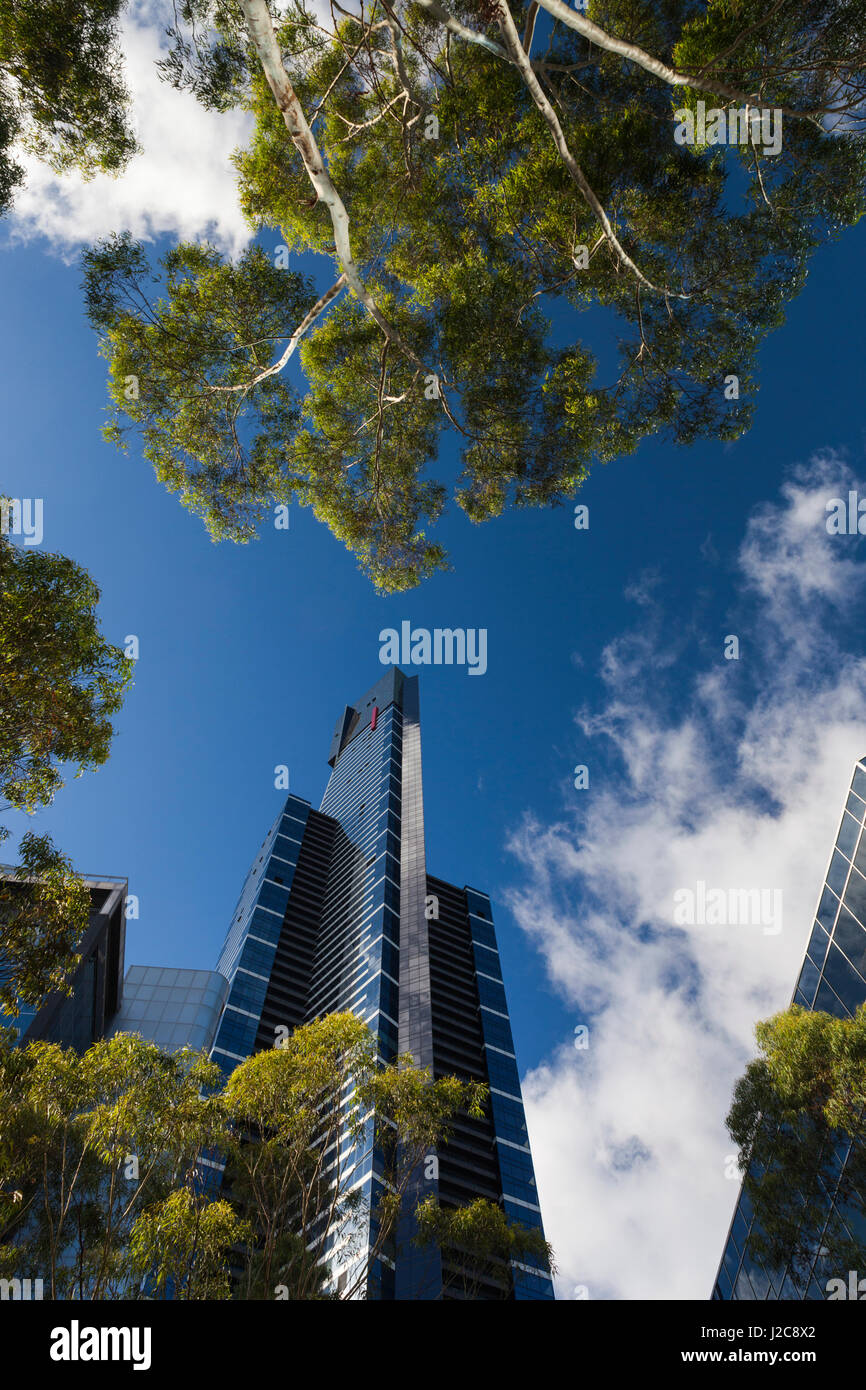 Australia, Victoria, Melbourne, Southbank, Eureka Tower, morning - Stock Image