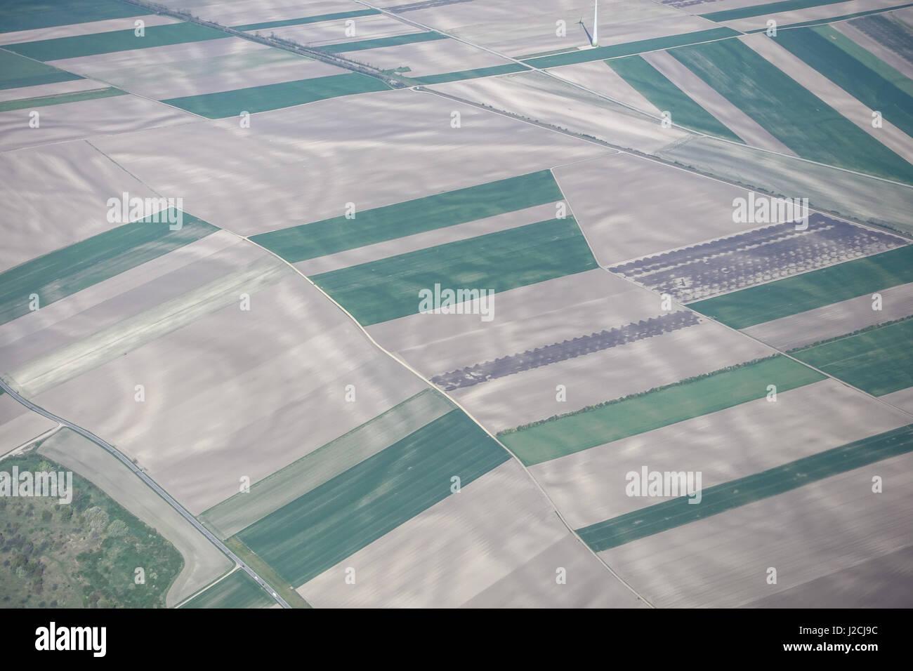 Luftbild - Stock Image