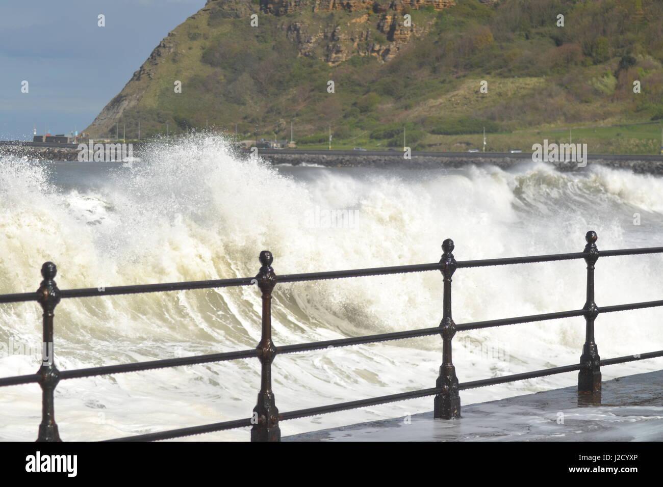 Crashing Waves - Stock Image