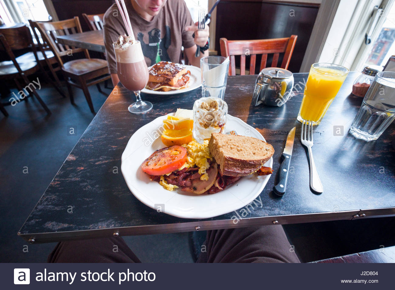 Reykjavik Food Cafe High Resolution Stock Photography And Images Alamy