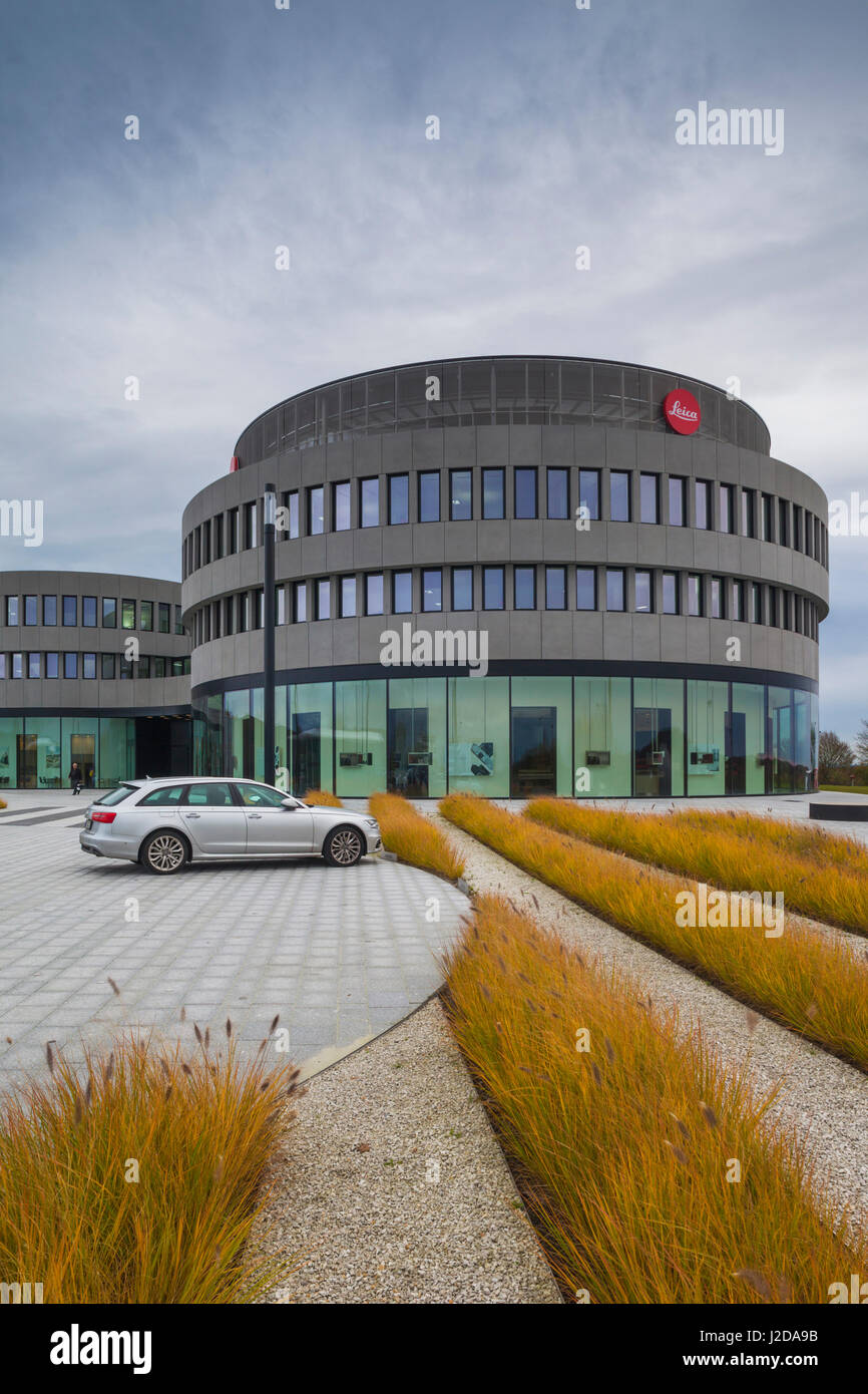 Germany, Hesse, Wetzlar, Headquarters of the Leica Camera Company, opened in 2014, exterior - Stock Image