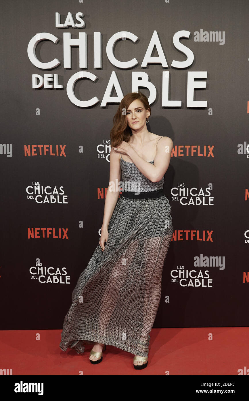 Ana Maria Polvorosa Hot cable girls stock photos & cable girls stock images - page 6