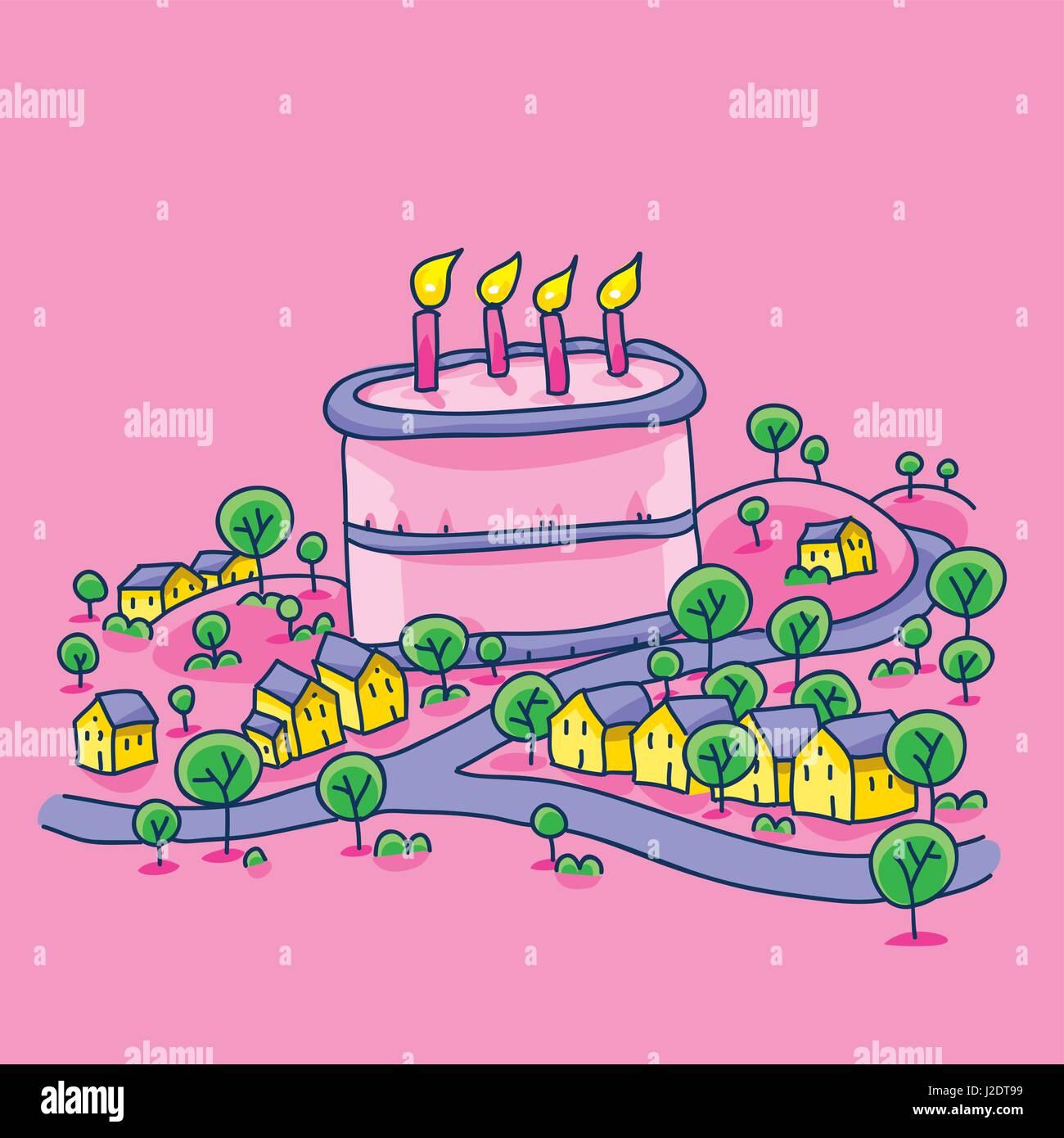 Giant Birthday Cake Stock Photos & Giant Birthday Cake Stock Images ...