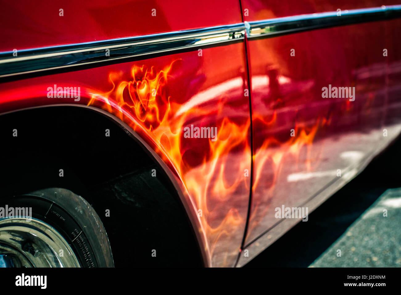 HeartsFlamin0548   - Stock Image