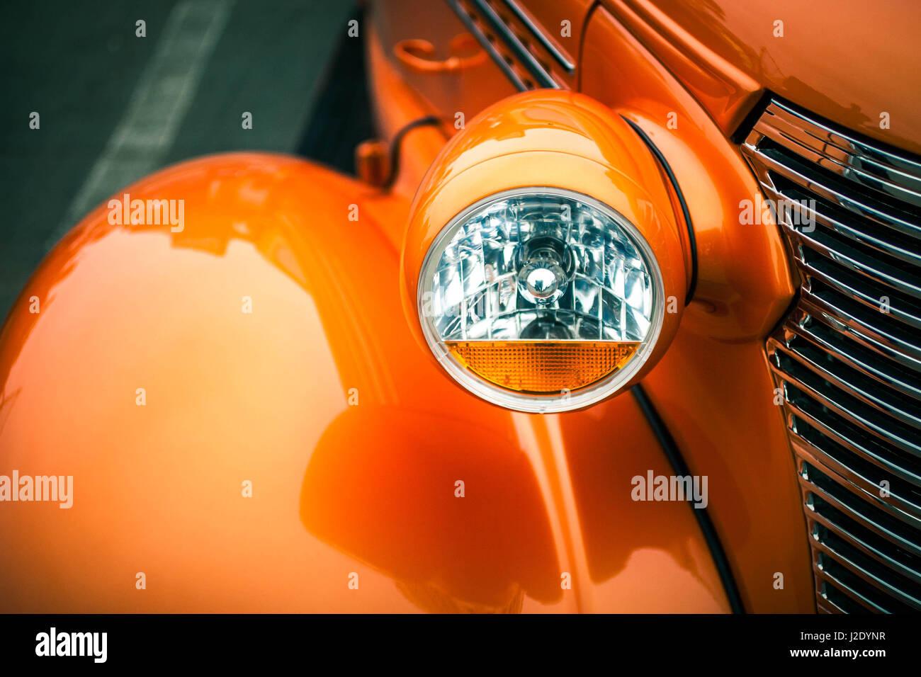 OrangeLight6618   - Stock Image
