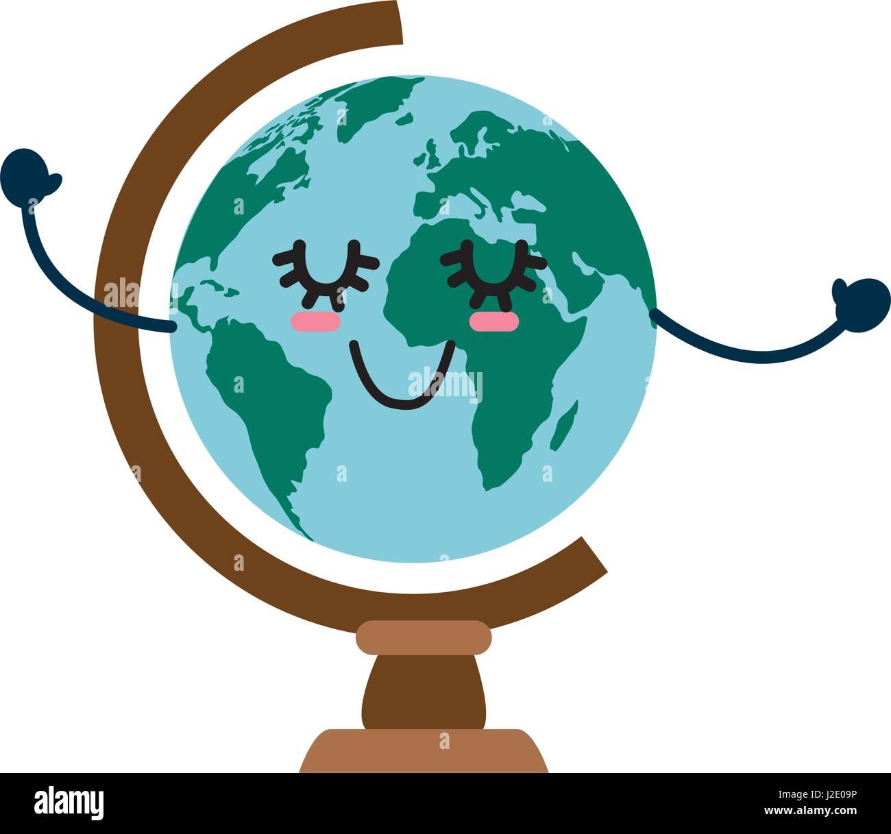 World globe cartoon stock photos world globe cartoon stock images world globe cartoon gumiabroncs Gallery