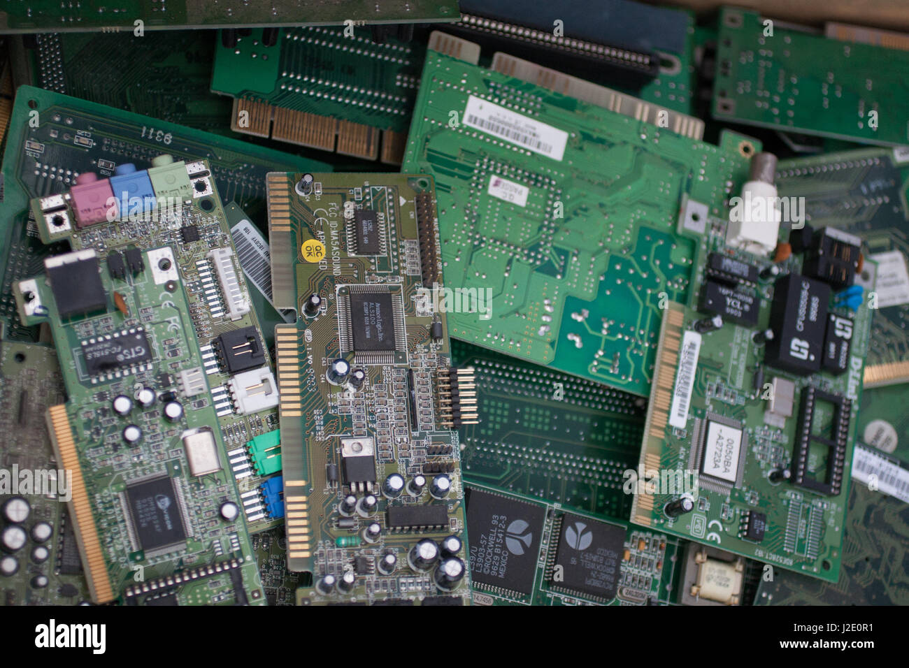 PCI Cards - Stock Image