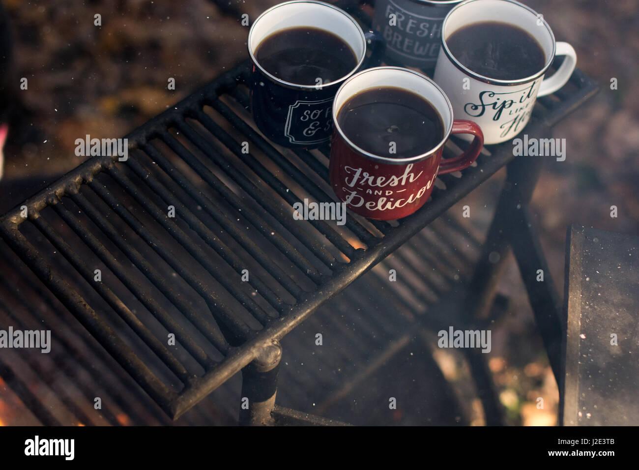 nice coffee - Stock Image