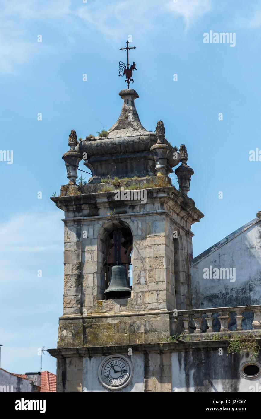 Portugal, Coimbra, Saint Bartholomew Catholic Church - Stock Image