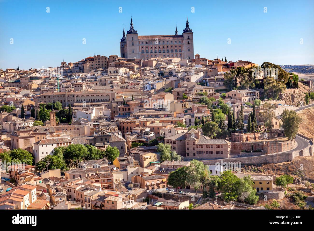 alcazar fortress medieval city toledo spain alcazar built in the