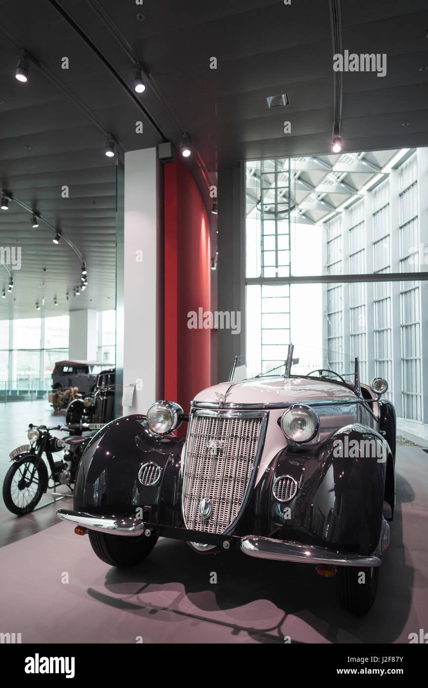 Germany Bavaria Ingolstadt Audi Car Company Museum Interior - Audi car company