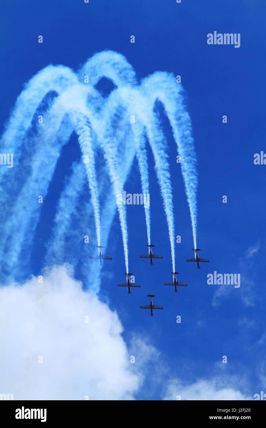 airshow - Stock Image