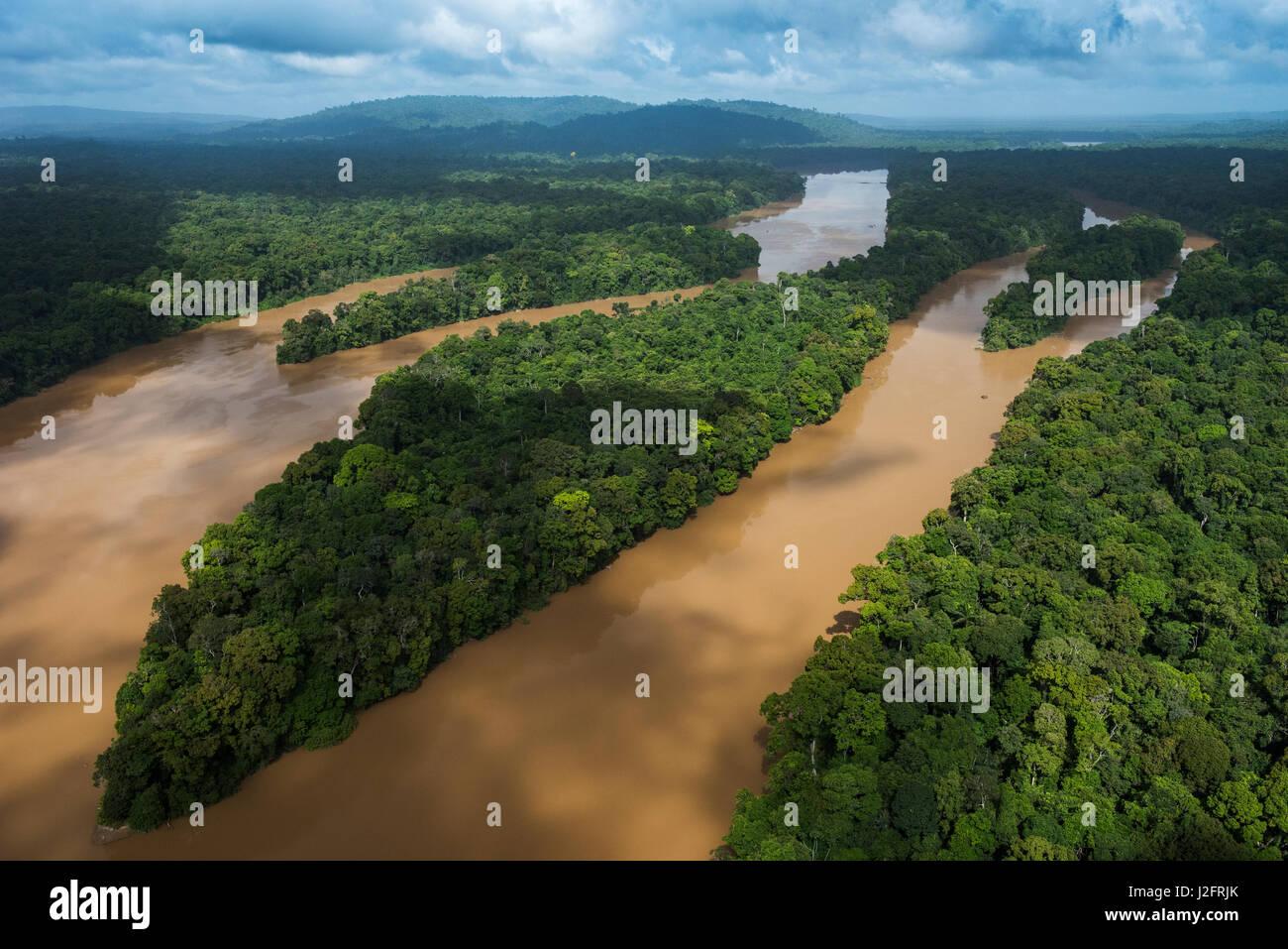 cuyuni river guyana longest river in guyana stock photo 139260091