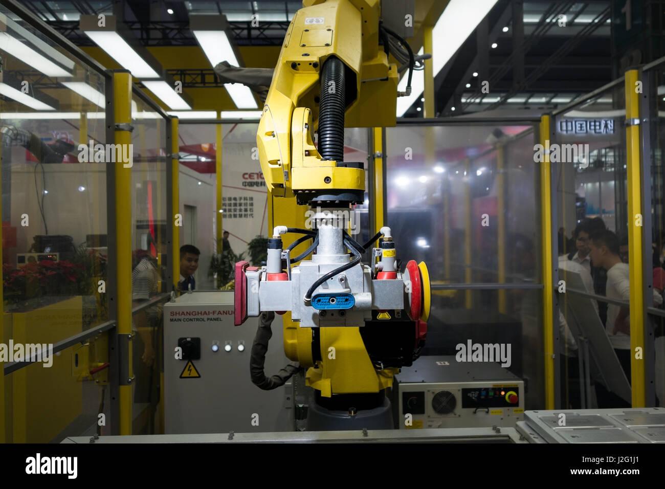 Fanuc industrial robotics