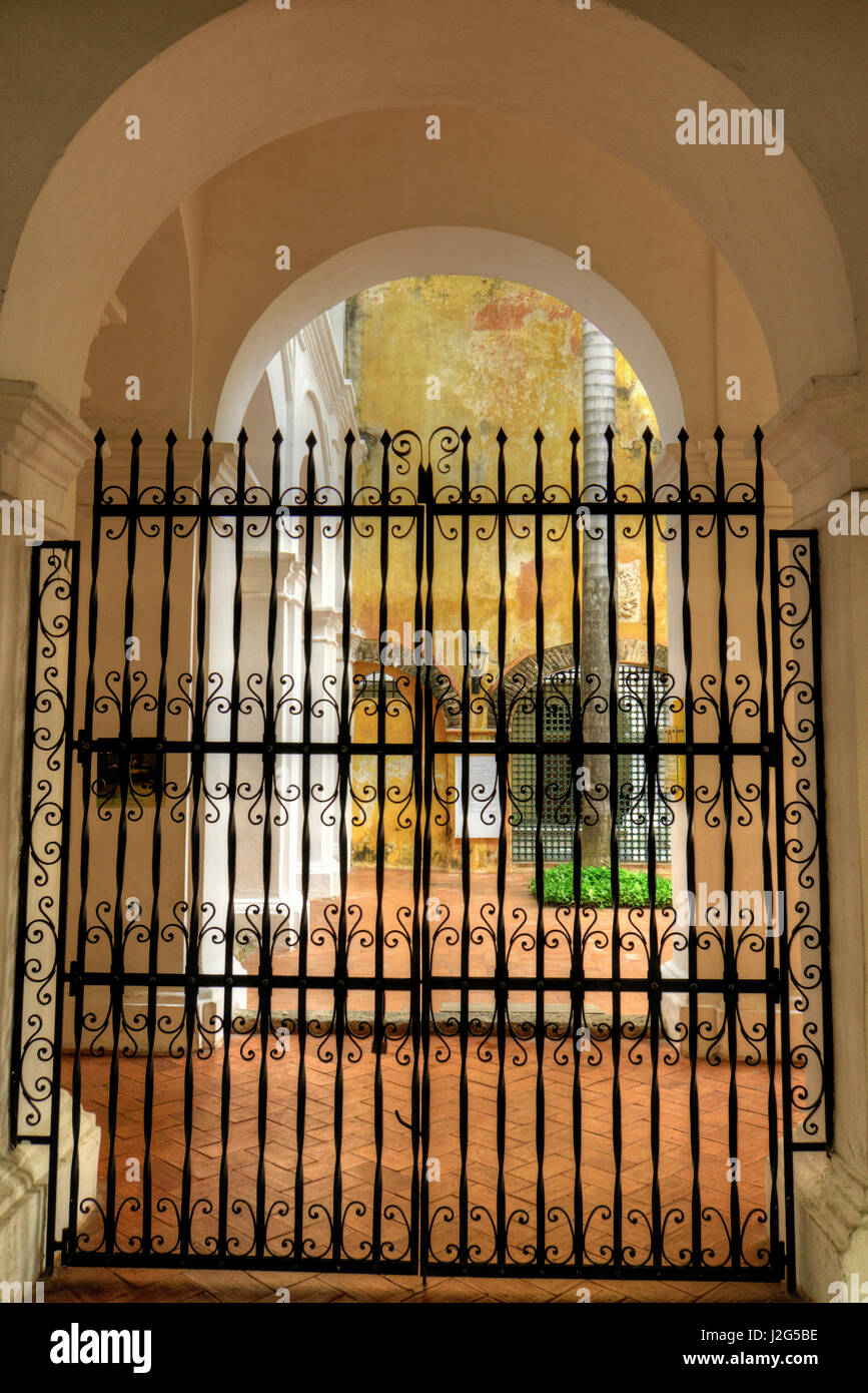 Museum of History, this was once the scene of the torments of the Spanish Inquisition, Cartagena, Colombia. - Stock Image