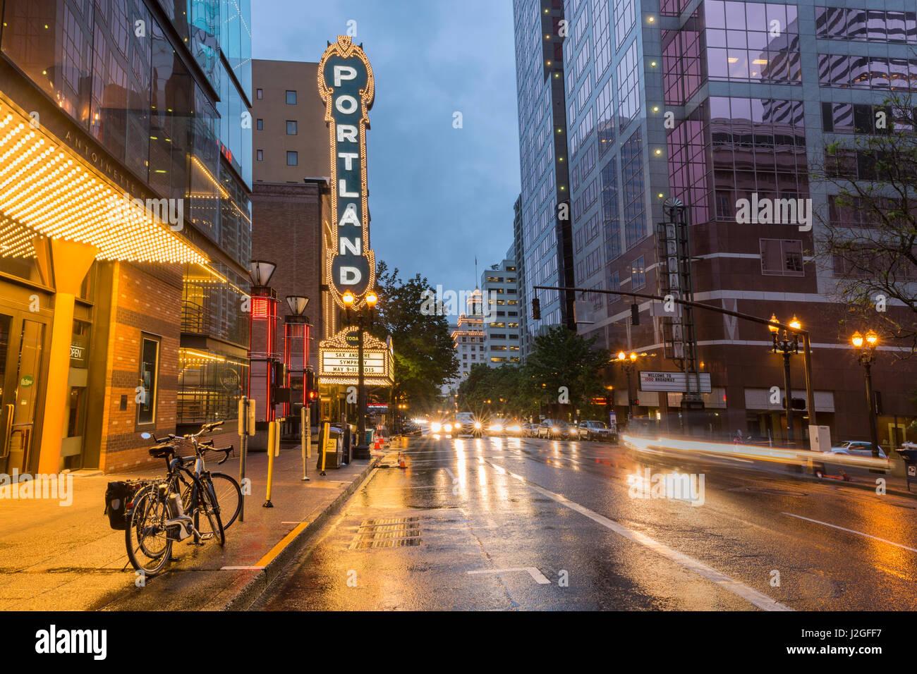 Portland Theater Arlene Schnitzer Concert Stock Photos Portland - Schnitzer theater portland