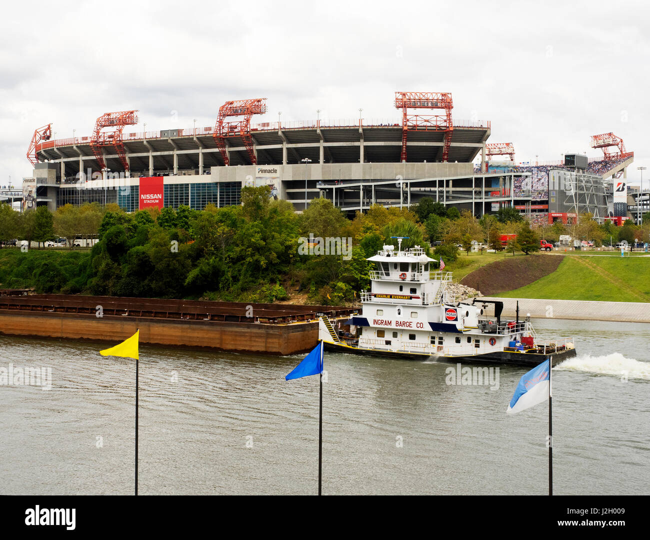 Tennessee Titans And Nashville Stock Photos & Tennessee