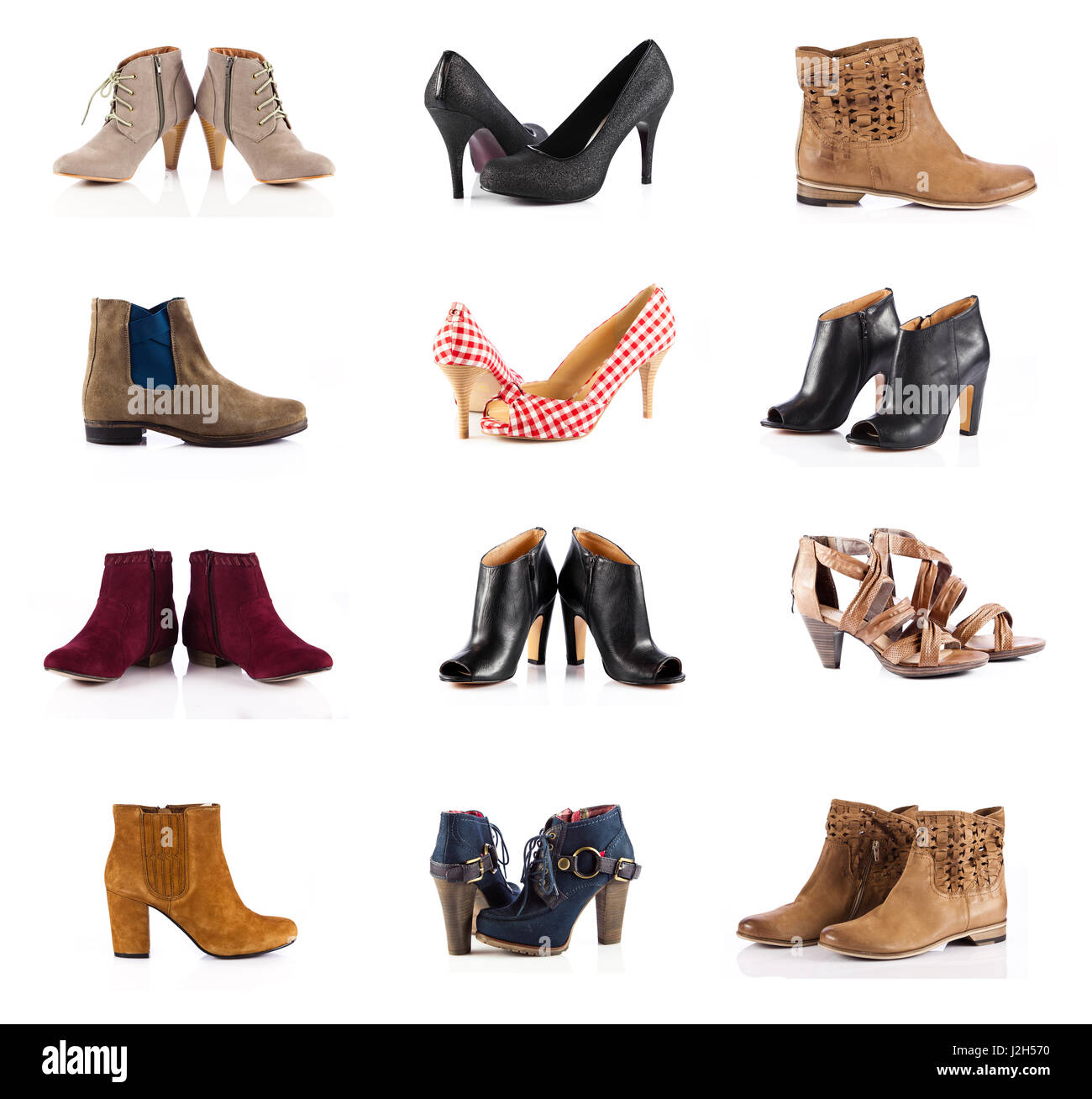 female footwear. female shoes over