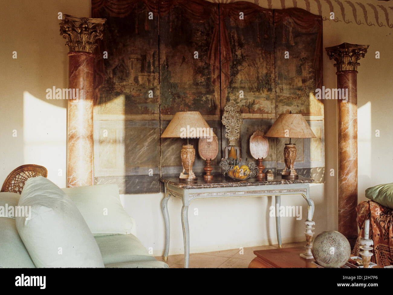 Magnificent Arabic Style Living Room Stock Photo 139291550 Alamy Home Interior And Landscaping Elinuenasavecom