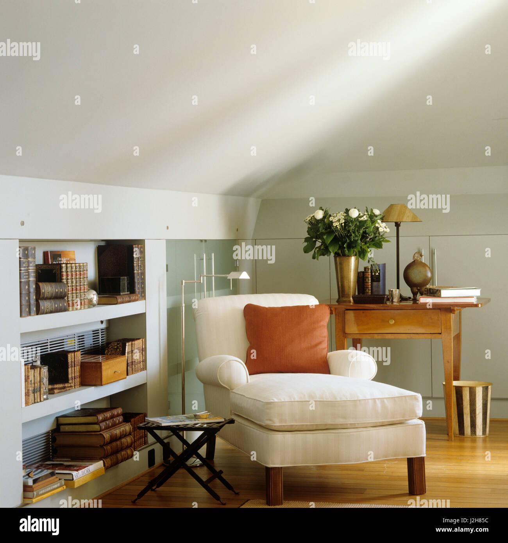 Corner of modern living room. - Stock Image