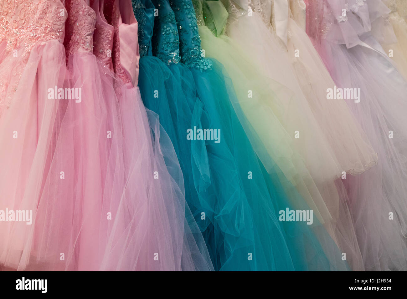 Party Dresses Stock Photos & Party Dresses Stock Images - Alamy