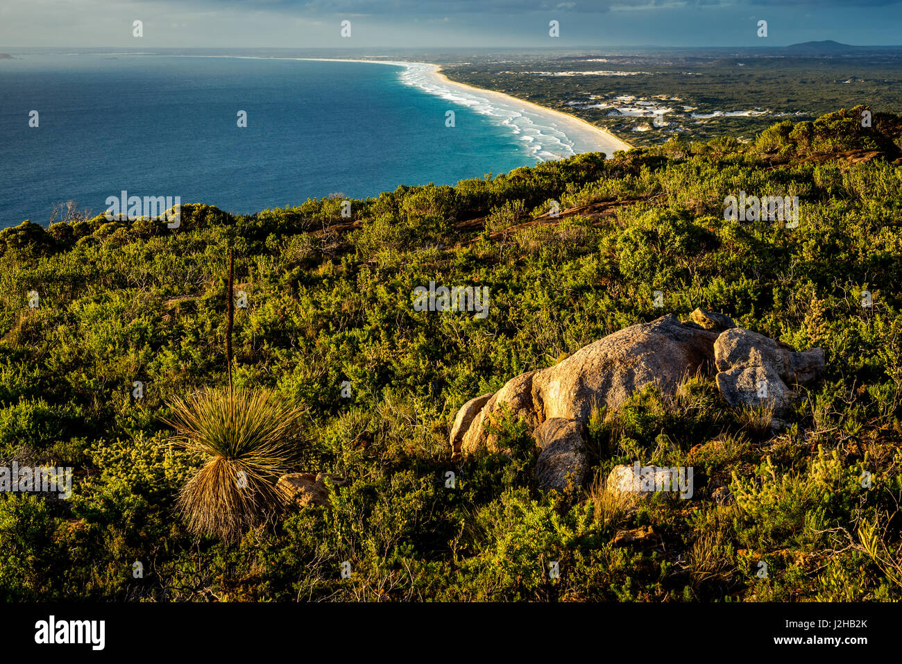 Le Grand Beach in Cape Le Grand National Park, Western Australia Stock Photo